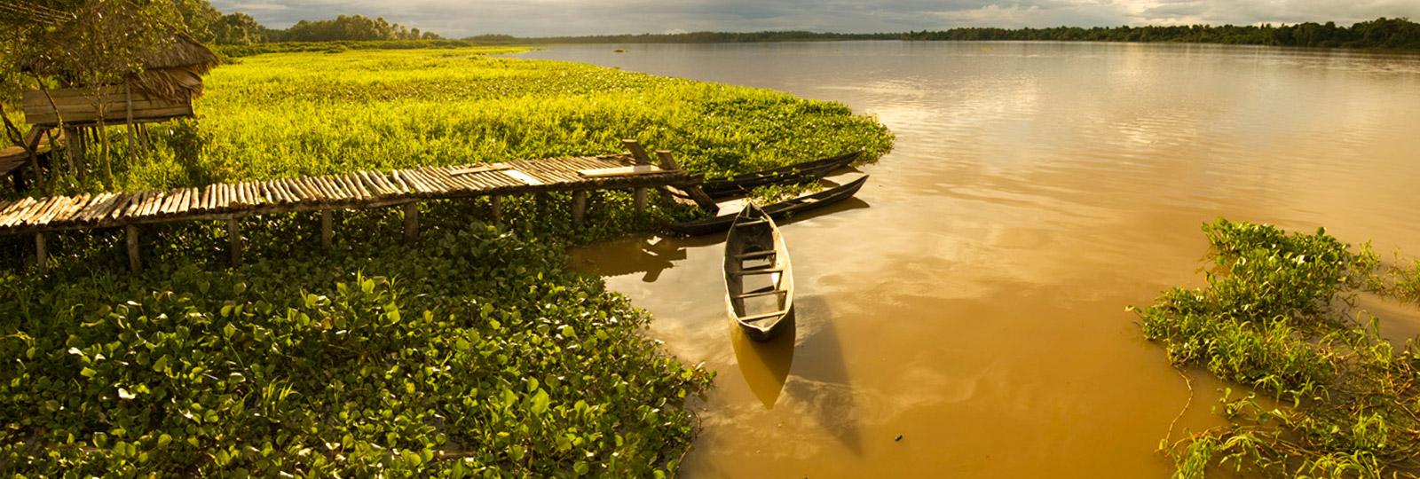 Muelle en el Delta del Orinoco