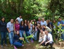 Reforestacion en Mérida por los 25 años de Natoura